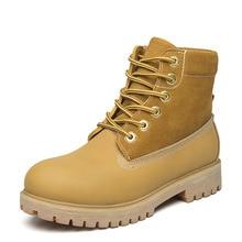 Пару моделей кожаные ботинки «мартенс» ревень сапоги ботинки для операций в пустыне Женская Пеший Туризм обувь