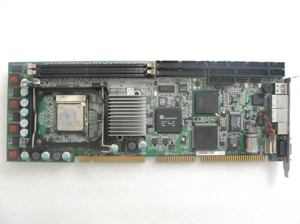 ADP-509-06 2001-509C Industrial Motherboard Hfpp-pic9 Dual Ethernet Port 100% tested perfect quality  скважинный насос aurora adp 1500 perfect