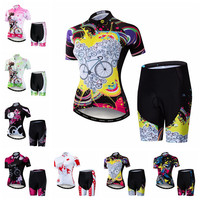 Weimostar 2019 Cycling Jersey Sets WomenS MTB Bike Clothing Mountian Road Bicycle suit pro team Ropa Ciclismo top bottom PINK