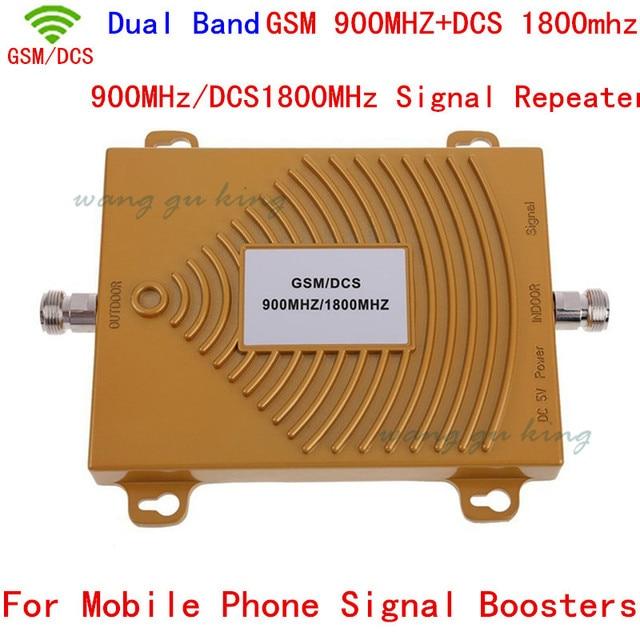 Dual Band GSM/DCS 900/1800 MHz 3G 4G Cell Phone Signal Booster Repeater, GSM/DCS Mobile Phone Signal Booster/Repetidor/amplificador
