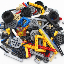 Technic Parts 250g Liftarm Beam Cross Axle Frame Connector Pin MOC Pieces Compatible Legoes Building Blocks Robot Toy