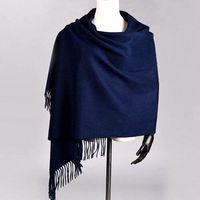 Утепленные 330 г зимний шарф Для женщин 100% овечьей шерсти большой длинный Одеяло шарфы шаль пашмины мягкий теплый Шарфы для женщин палантины ...