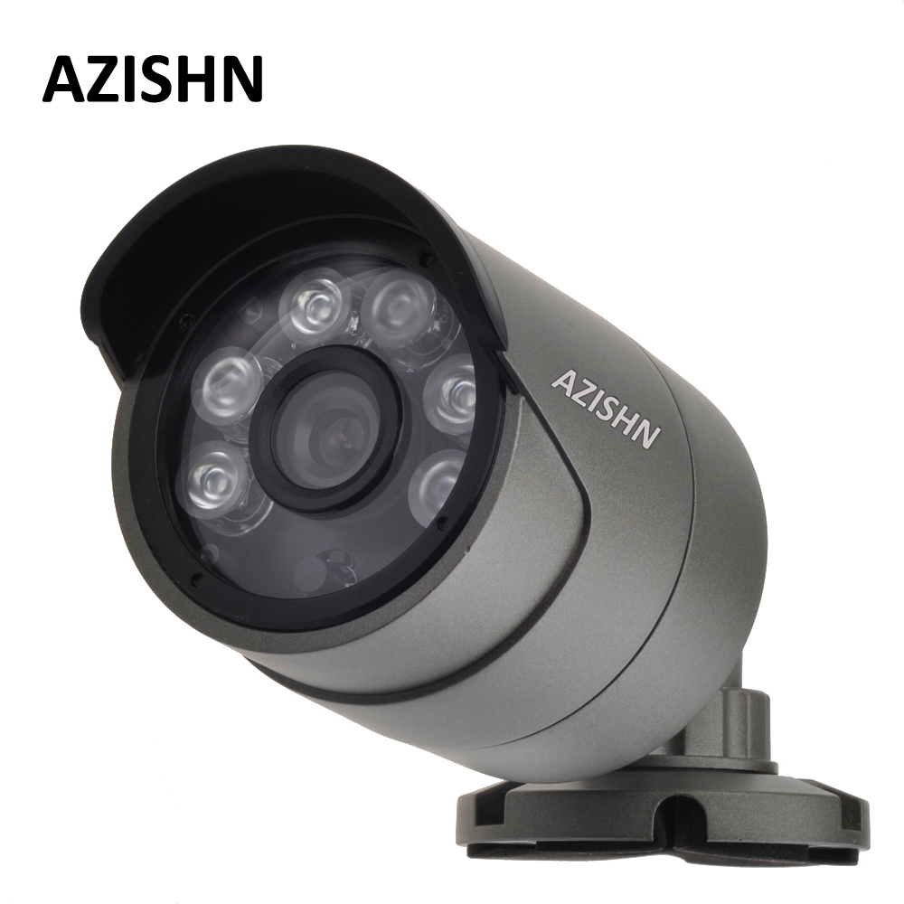 Surveillance ONVIF H 265 H 264 4MP IP Camera Outdoor Waterproof IP66 metal CCTV Camera Hi3516D