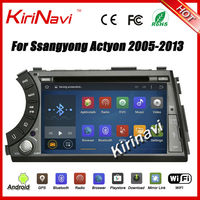 KiriNavi Android 5 1 1 Car DVD For Ssang Yong SsangYong Kyron Actyon Sports 2005 2013