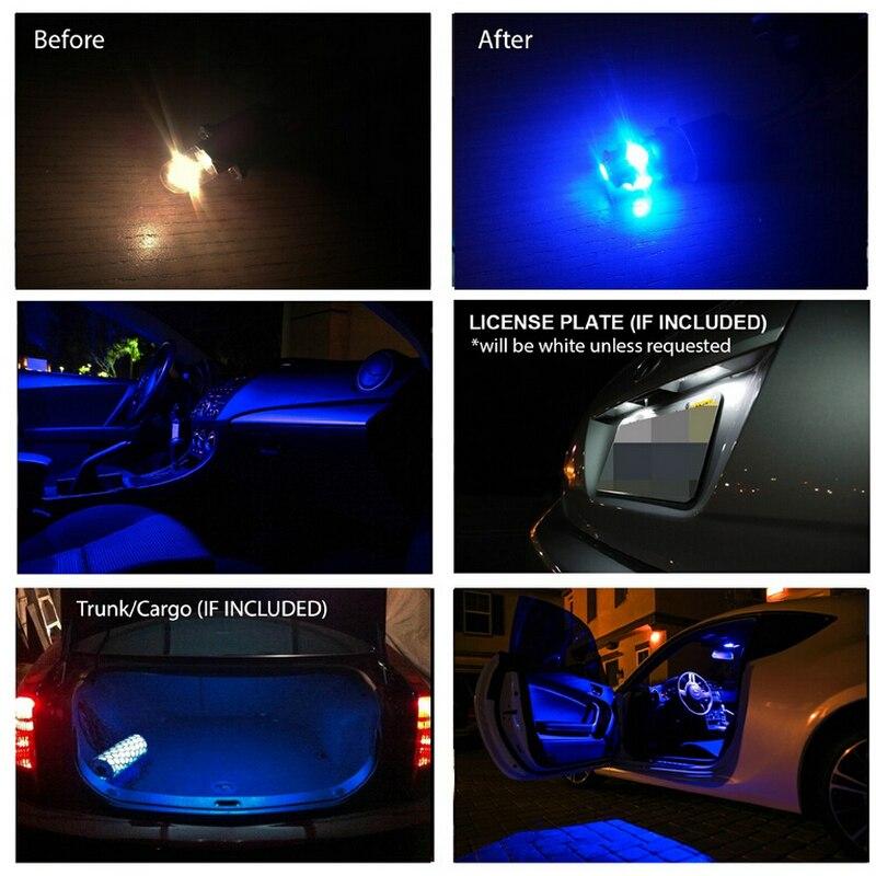 voiture led clairage intrieur pour 2018 fiat 500 auto automobile voiture led intrieur dme lumires ampoules