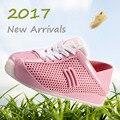 Mini Melissa Melissa Chicas Calzado Deportivo Transpirable Zapatillas 2017 Nuevomini Niños Zapatos Niño Niña Zapatillas de deporte de Moda Zapatos del Toronjil