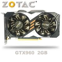 ZOTAC GTX 960 OC 2GB GT960 GTX960 2G D5 DDR5 128 Bit nVIDIA PC Desktop Graphics Cards PCI Express 3.0 computer Graphics Cards