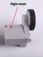 For A320 A325 Robot Vacuum Cleaner Wheels Including Right Wheel Assembly X 1pc Free Shipping