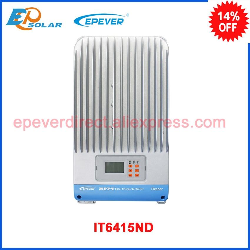 MPPT IT6415ND Solar Charge Controller  12V/24V/36V/48V Auto Work 60A mppt solar charge controller 60a 12v 24v 48v automatic recognition 60a mppt solar charge controller