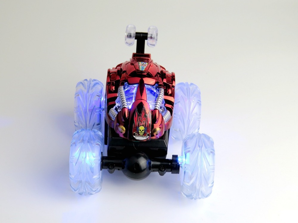 aliexpresscom buy rc car 360 degree stunt rc cars for kids mania stunt crazy dump car rc car with led lights music from reliable rc car 360 suppliers on