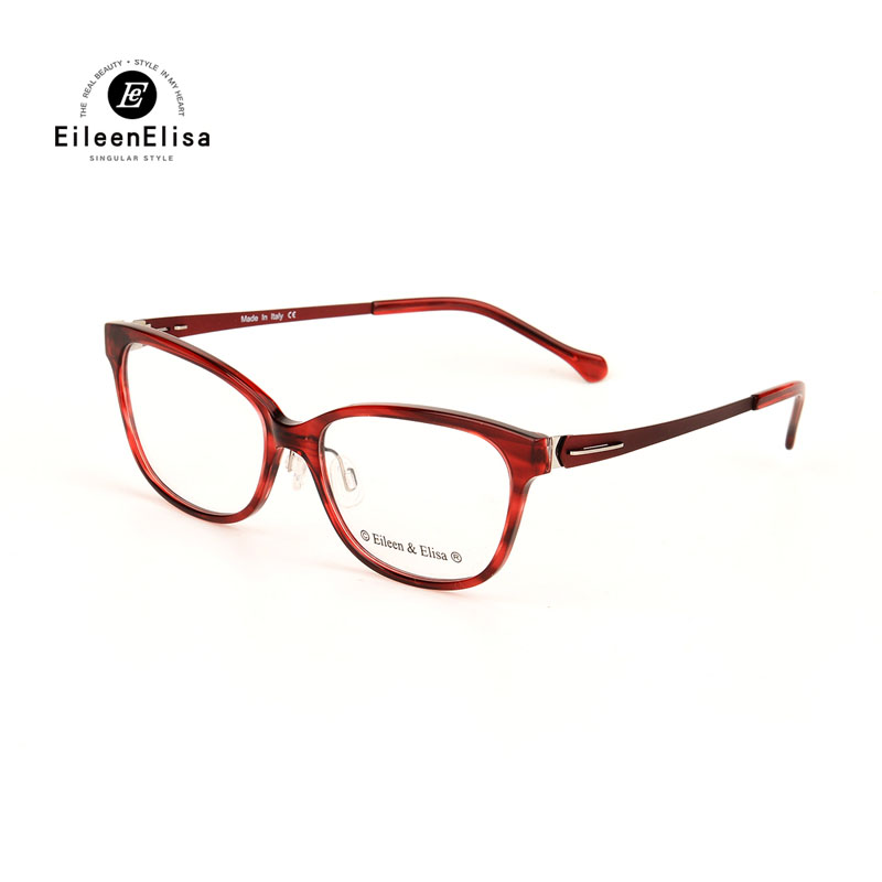 2017 ee oval vintage hot optical glasses frame women designer oculos de sol acetate frame reading glasses high quality
