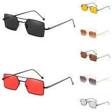 Mulheres Vidros do vintage Óculos Homem Tons Quadrados Pequenos Óculos  Moldura Retangular des lunettes gafas oculos Para O Sexo . 50f7f1badc