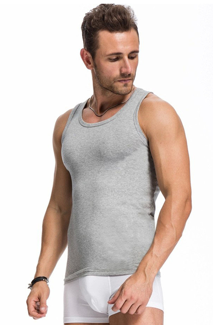 Hot Sleeveless Cotton Shirt For Men