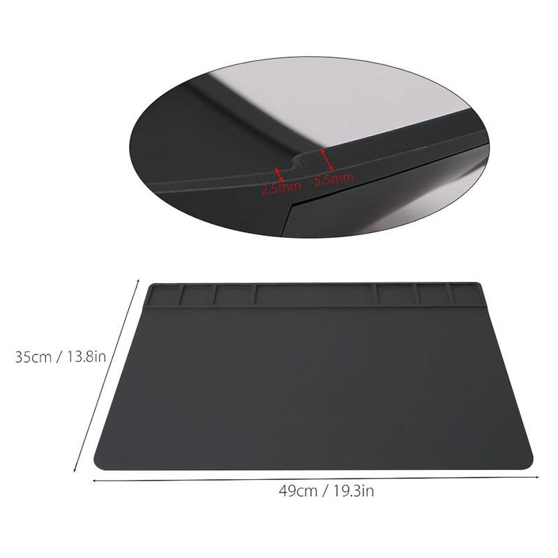 Hőszigetelő pad mobiltelefon javító eszköz mágneses csavar mat - Szerszámkészletek - Fénykép 5