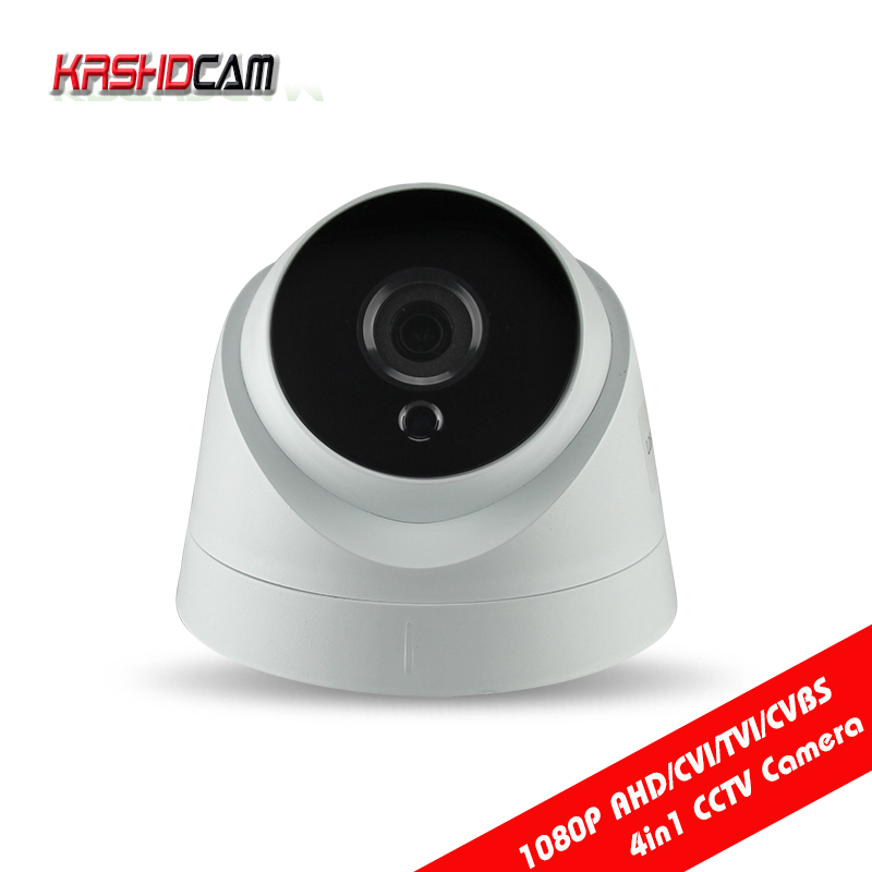 2MP 1080P AHD camera CVI/TVI/CVBS 4 IN 1 home indoor Dome Night Vision HD Lens 1920*1080 security CCTV cameras de seguranca hd ahd cvi tvi cvbs bullet camera with alarm speaker waterproof ip67 hd 1080p 4 in 1 security camera outdoor night vision ir 20m
