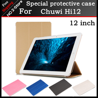 Hot Sale High Quality Ultra Thin PU Leather Case For Chuwi Hi12 12 Inch Tablet PC