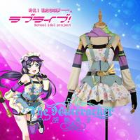[STOCK] Anime Love Live Nozomi Tojo Crayon/Painter Awakening Cosplay Costume XS XXL For Wome Halloween Free Shipping New 2018