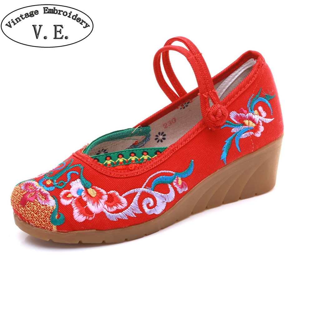 Women Shoes Embroide...