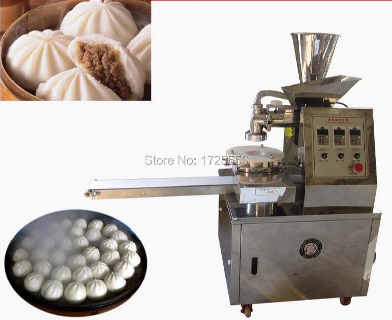 цена automatic machine buns steamed stuffed bun making machine chinese momo maker machine онлайн в 2017 году