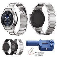 22mm Stainless Steel Watch Bands For Samsung Gear S3 Frontier Strap For Gear S3 Classic Smart