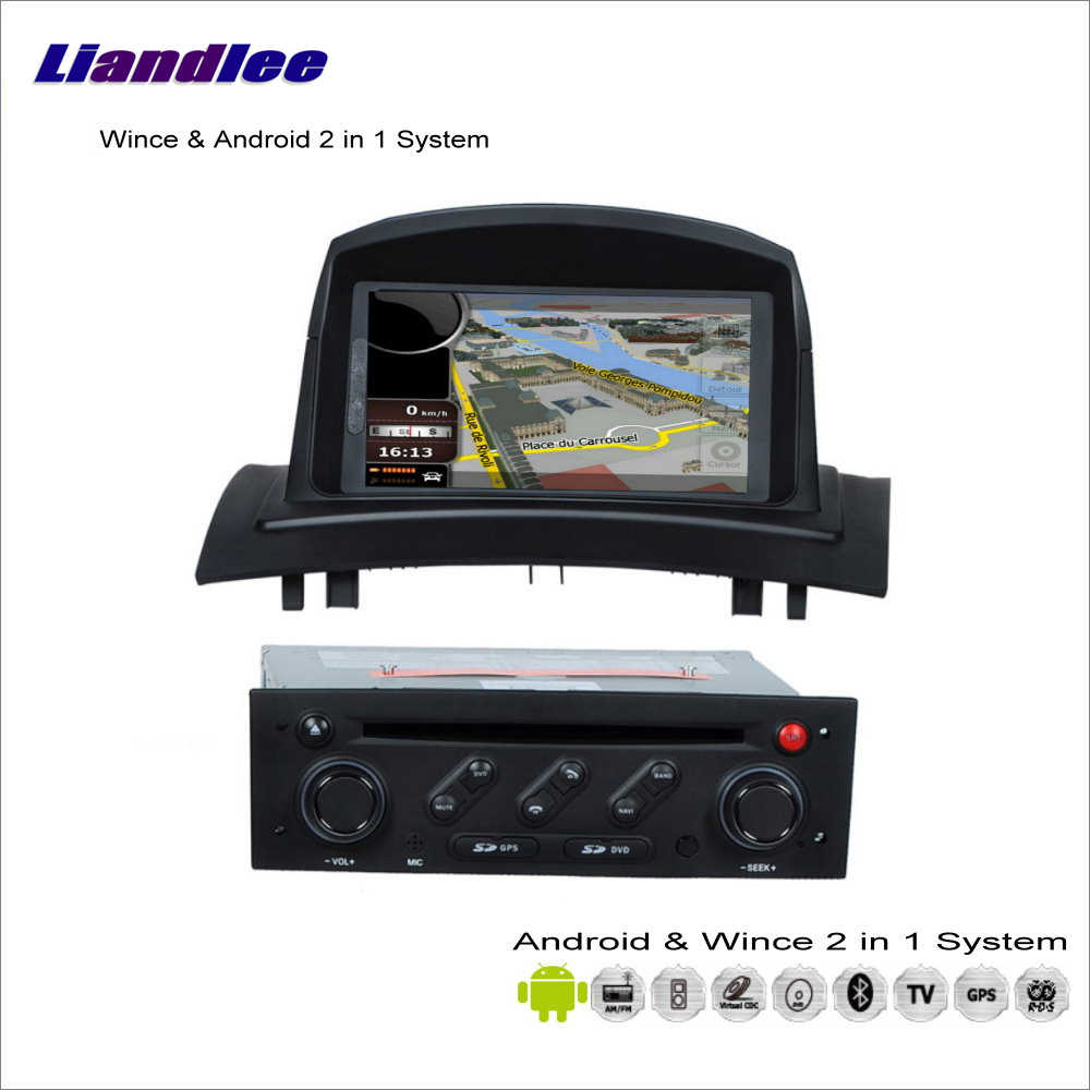 Liandlee Car Android Multimedia Stereo For Renault Megane II