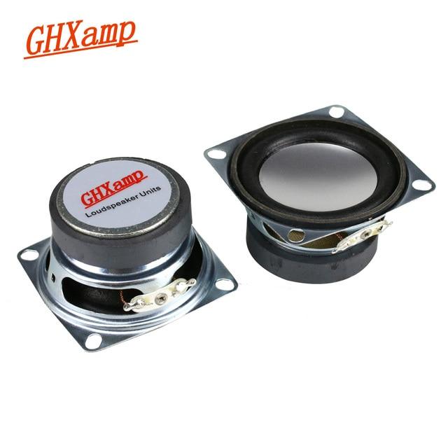 GHXAMP 2 cal głośnik pełnozakresowy głośnik Bluetooth DIY 4ohm 3W głośnik wysokotonowy średni bas dla Laptop głośniki komputerowe 2 sztuk