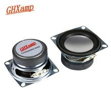 GHXAMP 2 inch Full Range Speaker Bluetooth Speaker DIY 4ohm 3W Tweeter Mid Bass For Laptop Computer Speakers 2PCS