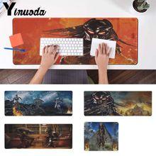 Yinuoda Cool Movie Predator Warrior Pattern Alien Monster laptop Game mouse pad