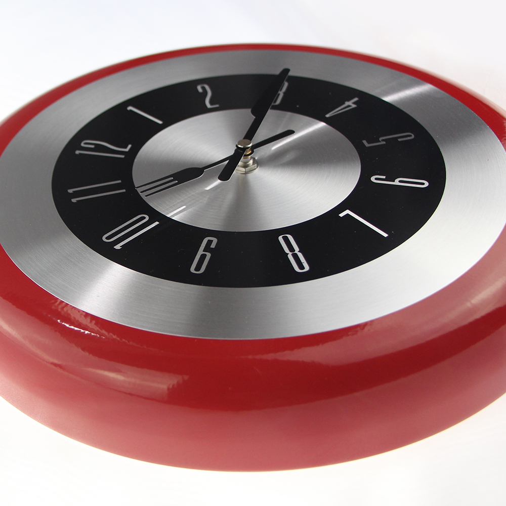 High quality wall clocks gallery home wall decoration ideas high quality wall clock metal frying pan design 8 10 12 high quality wall clock metal amipublicfo Image collections