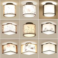 Горячая 17 типов китайский Стиль потолочный светодиодный светильник E27 110 V 220 V фабричная потолочная лампа для Гостиная проход балконное