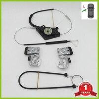Для Skoda Octavia A4 MK1 1997 1998 1999 2000 2001 2002 2003 2004 2005 2006 2007-2011 стеклоподъемник комплект для ремонта передней левой стороне