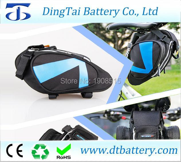 36V 13.6Ah saddle bag battery/seat post ebike battery with 8Fun/Bafang BBS01 36V 350W mid/center drive electric motor kits цена