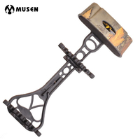 3 Color Portable Camouflage Quiver For 6 Archery Hunting Arrows Compound Bow Holder Outdoor Shooting Accessory