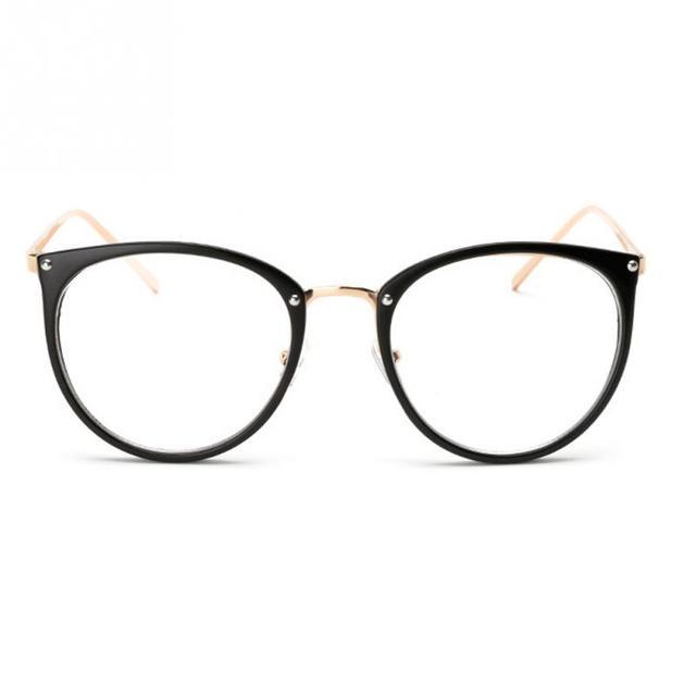 58236a4b2b 2018 hombres mujeres Nerd gafas claro lente gafas Unisex ronda Retro gafas