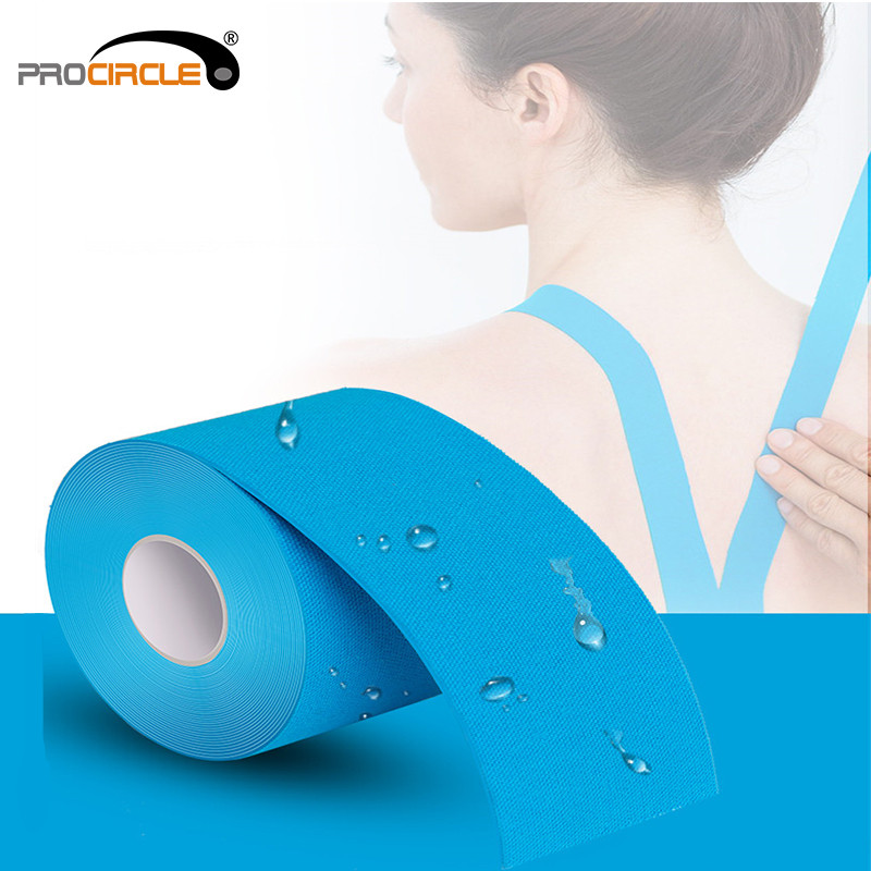 Procircle Kinesiology Elastoplast Tape Sports Muscle Tapes Roll Breathable Waterproof Pain relief Adhesive for MusclesProcircle Kinesiology Elastoplast Tape Sports Muscle Tapes Roll Breathable Waterproof Pain relief Adhesive for Muscles