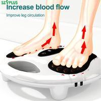 Masajeador eléctrico EMS para pies con calefacción infrarroja, masajeador de relajación de pies, estimulación de pulso de baja frecuencia, aumentador de circulación sanguínea