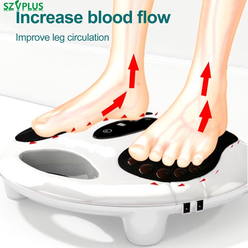 Elektrische EMS fuß massager infrarot heizung Fuß relexology massage niedrigen Frequenz puls stimulation durchblutung booster-in Massage & Entspannung aus Haar & Kosmetik bei AliExpress - 11.11_Doppel-11Tag der Singles 1