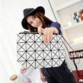 Women Plaid Laser Bag Geometric Shoulder Bags Bao Bao Casual Mini Clutch Makeup Crossbody Bags for Women Messenger Bag Patchwork