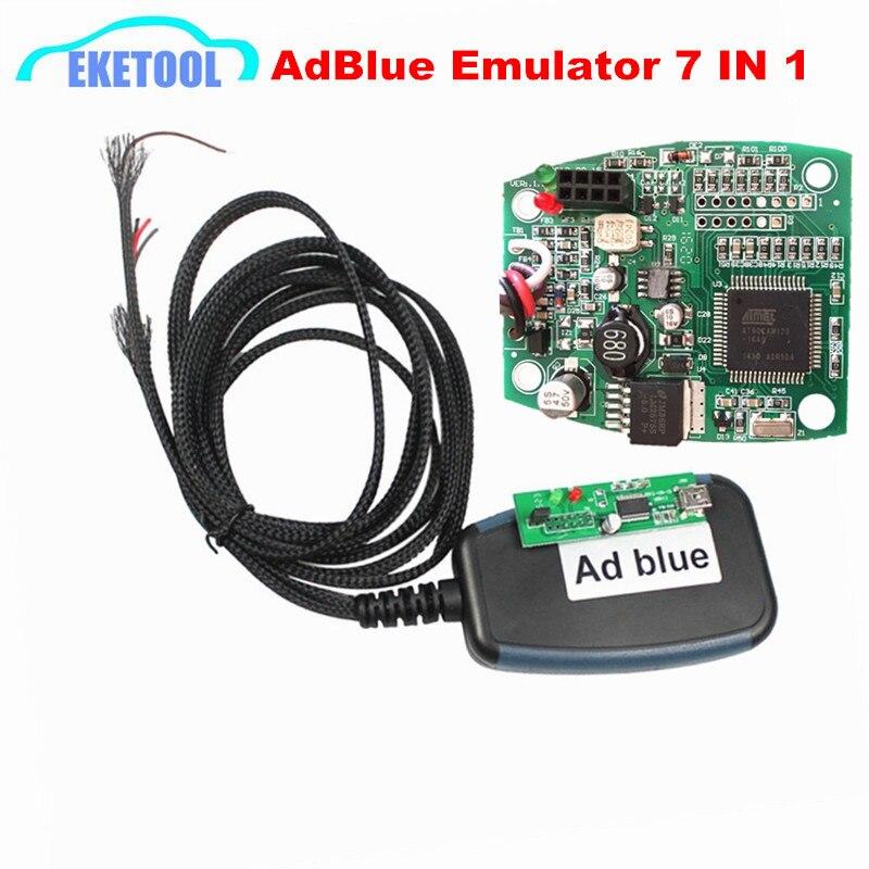Prix pour 2017 Date Professionnel Heavy Duty AdBlue Émulateur Programmation Adaptateur Ad Bleu 7 EN 1 Supprimer Outil Fonctionnel Camion Interface