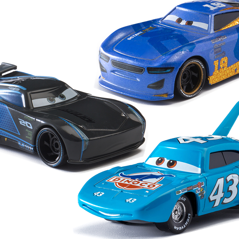Tv Movie Character Toys Disney Pixar Cars 6pcs Lightning Mcqueen