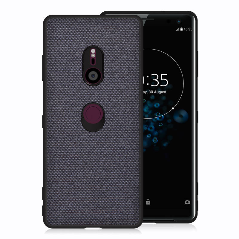 PHOPEER Case for Sony Xperia XZ3 XZ4 case Soft silicone fabric cloth protective cover for Sony Xperia XZ4 XZ 4 case in Fitted Cases from Cellphones Telecommunications