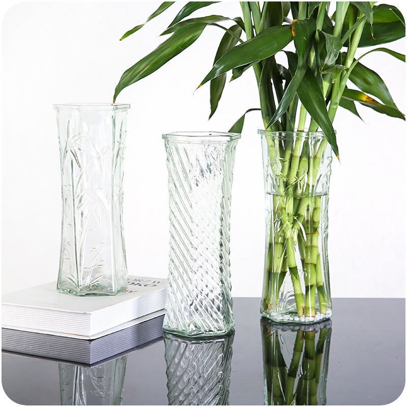 Garden Home Decoration A Vases For Flower Tabletop Bottle Plant Seed Irregular Glass Vases For Decoration Christmas Gift Craft