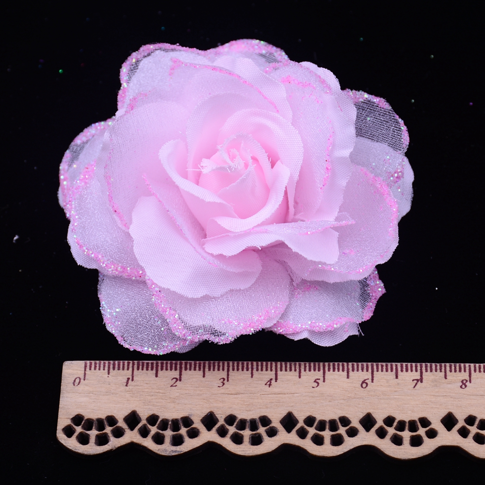 10pcs lot artificial silk rose wedding decoration for Artificial flower for wedding decoration