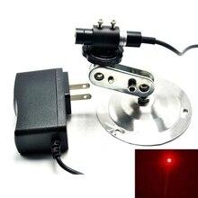 Focusable 650nm 80mw Red Laser Locator Module Focus Dot w 5V Adapter & Holder ldtr 0014 5v 650nm laser emit module for arduino white golden