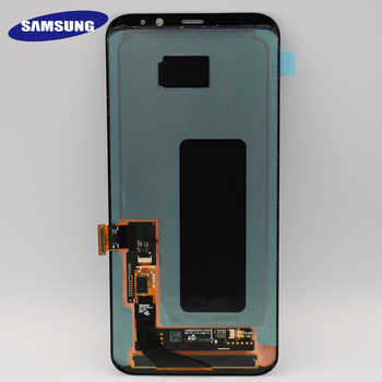 Original S8plus Display Screen for SAMSUNG Galaxy S8 PLUS Screen Replacement LCD Touch Digitizer Assembly G955 G955F with FRAME