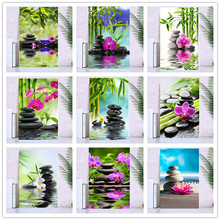 Diamond painted cross stitch/5D DIY full round diamond / landscape bamboo embroidery mosaic home decoration