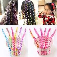 Lovely Cute 6Pcs Spiral Screw Hairpin Hair Curler Barrette for Girls Kid Wy Hot