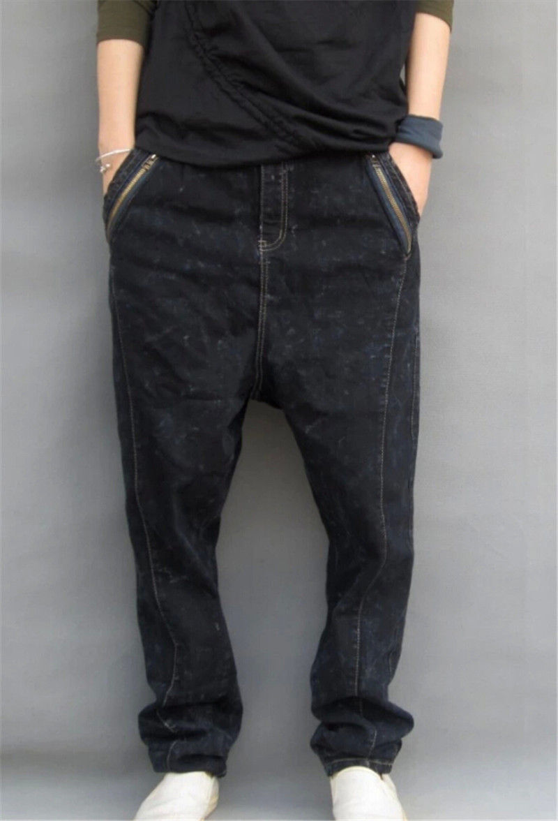 Compare Prices on Men Black Baggy Jeans Pants- Online Shopping/Buy