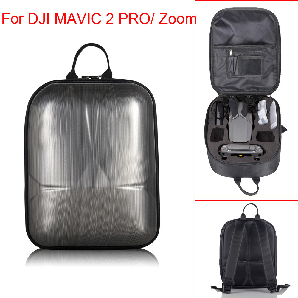 Hard Shell Drone Carrying Backpack Waterproof Anti-Shock Bag Case For DJI Mavic 2 Pro Mini Helicopter Parts 20J Drop Shipping