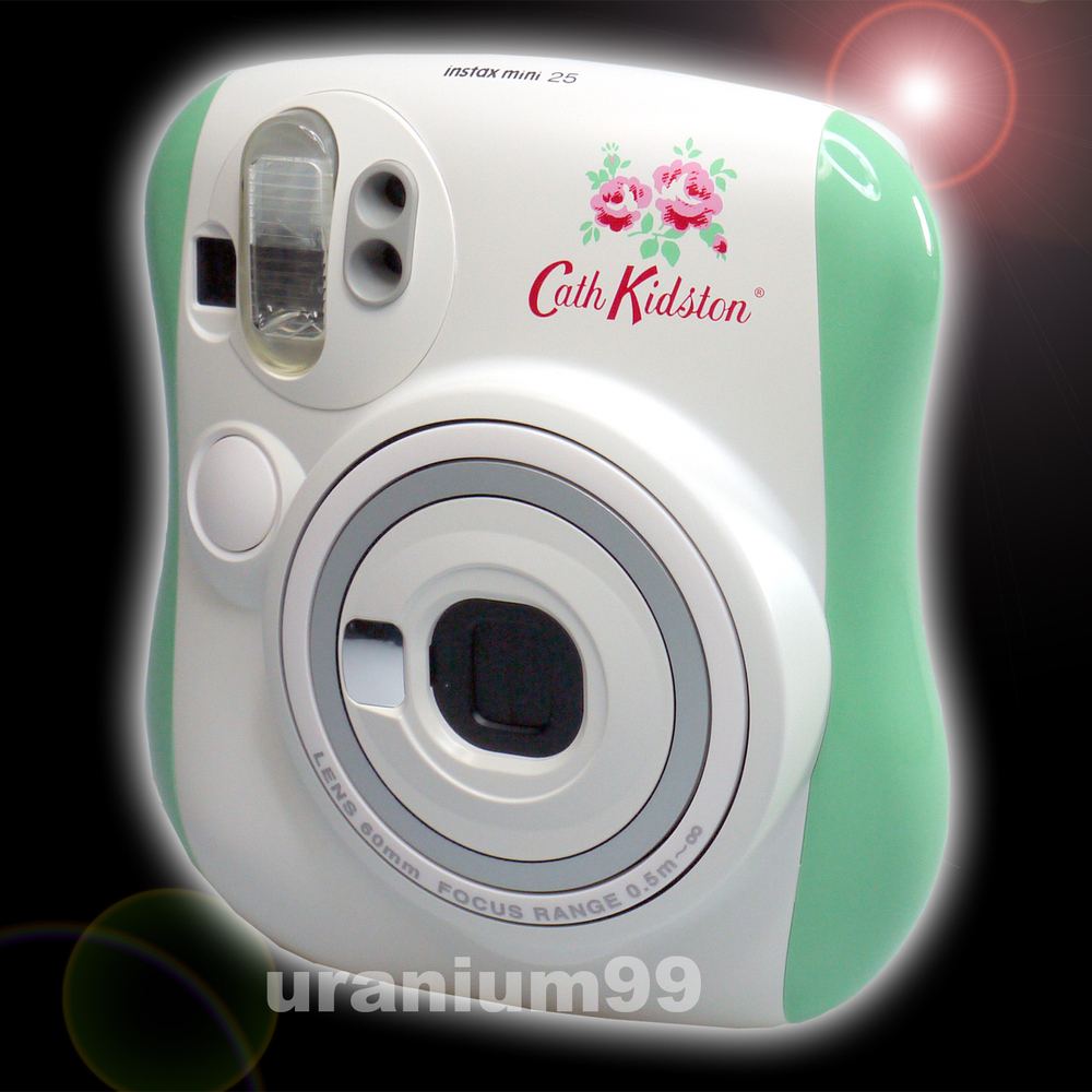 Polaroid Fuji Fujifilm Edition Mint Green Blossom Flower Instax Mini 25 Little Instant Film Photo Camera In From Consumer Electronics On